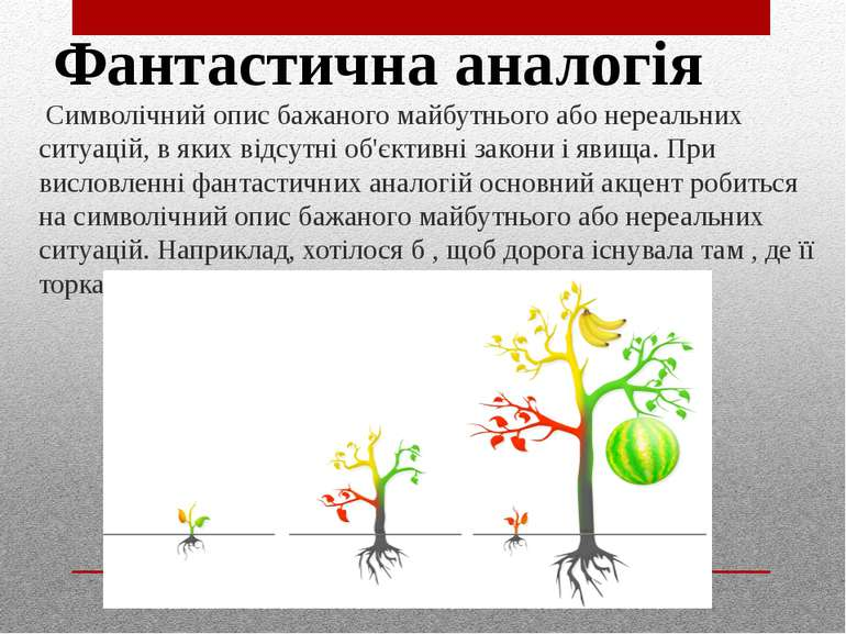 Символічний опис бажаного майбутнього або нереальних ситуацій, в яких відсут...