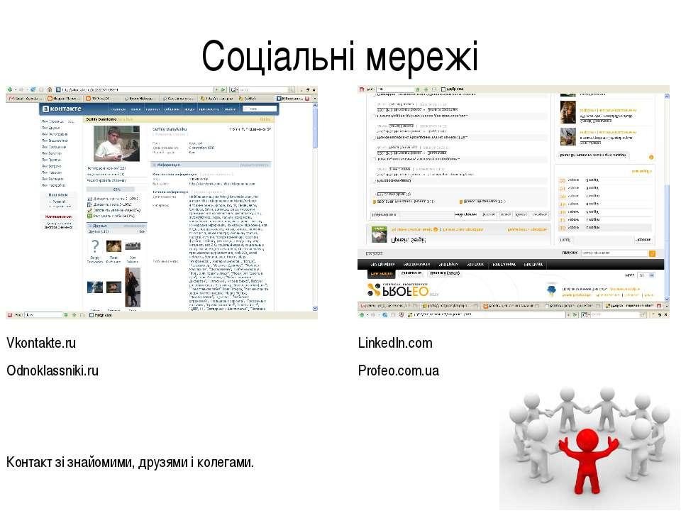 Соціальні мережі Контакт зі знайомими, друзями і колегами. Vkontakte.ru Odnok...