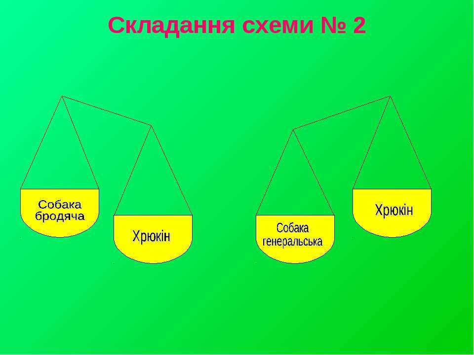 Складання схеми № 2