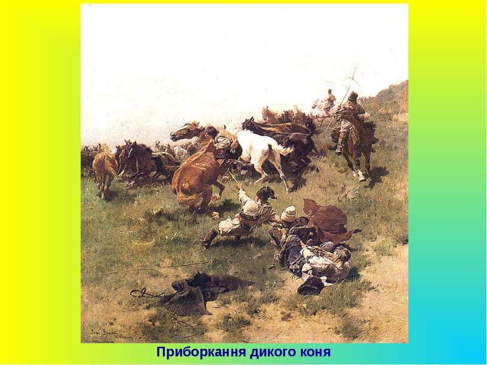 Приборкання дикого коня