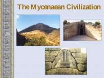 The Mycenaean Civilization