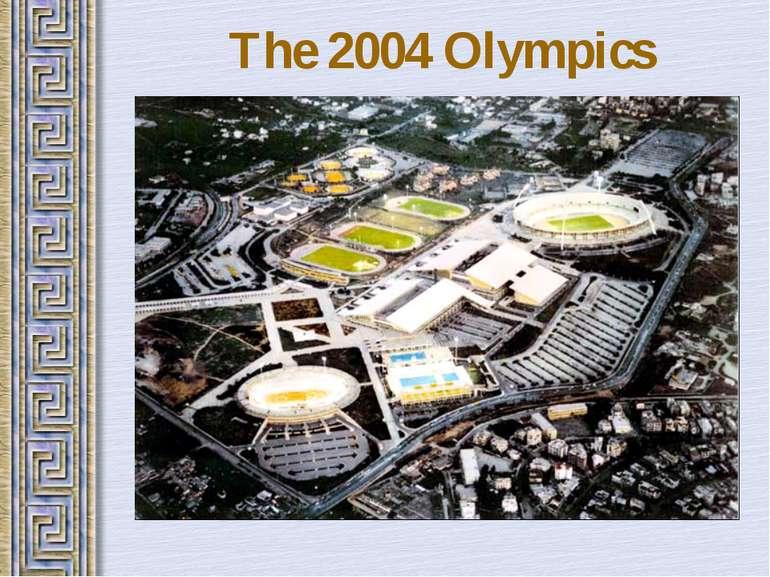 The 2004 Olympics