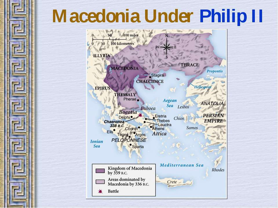 Macedonia Under Philip II