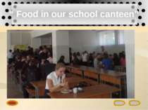 """ Food in our school canteen"""