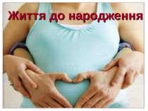 Життя до народження
