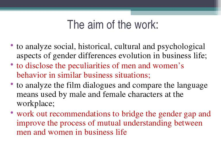 The aim of the work: to analyze social, historical, cultural and psychologica...