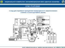 ОПИС РОЗРОБКИ Стенд для перевірки принципової працездатності запропонованих с...