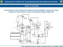 ОПИС РОЗРОБКИ Розрахункова схема глибокої утилізації низькопотенційної теплот...