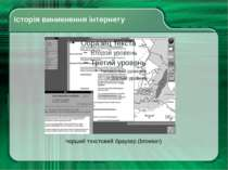 Історія виникнення інтернету перший текстовий браузер (browser)