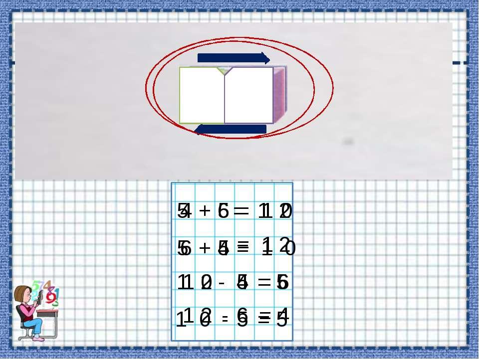 5 5 + = 1 0 5 5 + = 1 0 1 0 5 - = 5 1 0 5 - = 5 4 6 + = 1 2 6 4 + = 1 2 1 2 4...
