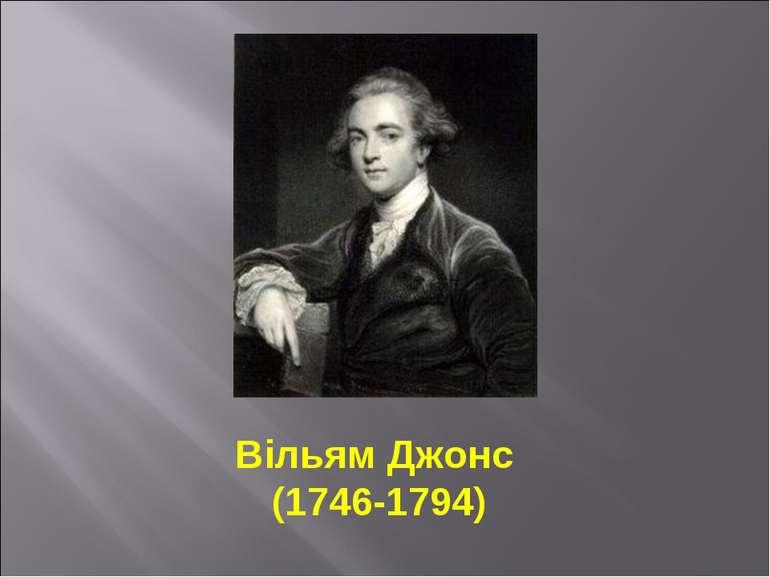 Вільям Джонс (1746-1794)