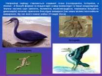 Наприкінці періоду з'являються справжні птахи (гесперорніси, іхтіорніси, а пі...
