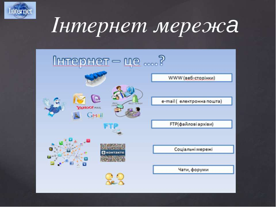 Інтернет мережа