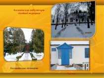 Балашівське лісництво Балашівська амбулаторія сімейної медицини Аптека