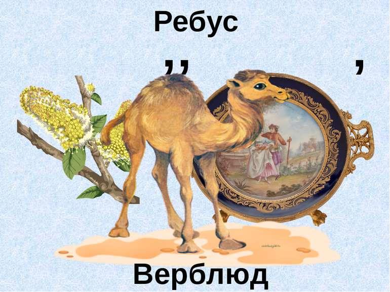 Ребус ' ' ' Верблюд