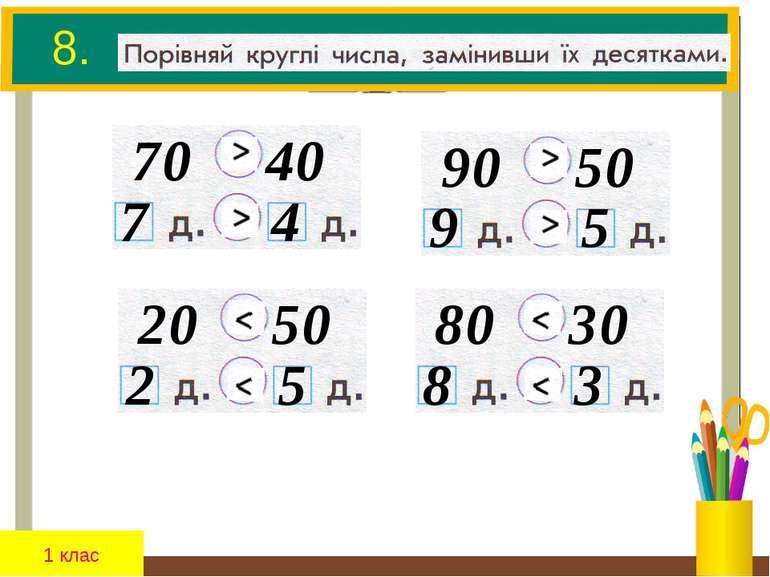 8. 7 0 4 0 7 4 1 клас 9 0 5 0 9 5 2 0 5 0 2 5 8 0 3 0 8 3
