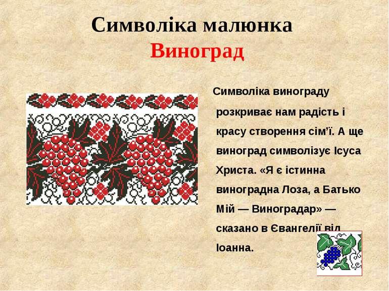 Символіка малюнка Виноград Символіка винограду розкриває нам радість і красу ...