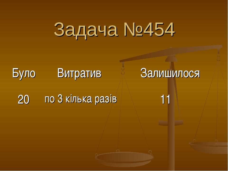 Задача №454