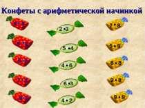 Конфеты с арифметической начинкой 5 2 6 3 7 2 8 2 2 3 5 4 4 6 6 3 4 2 7 8 5 9...