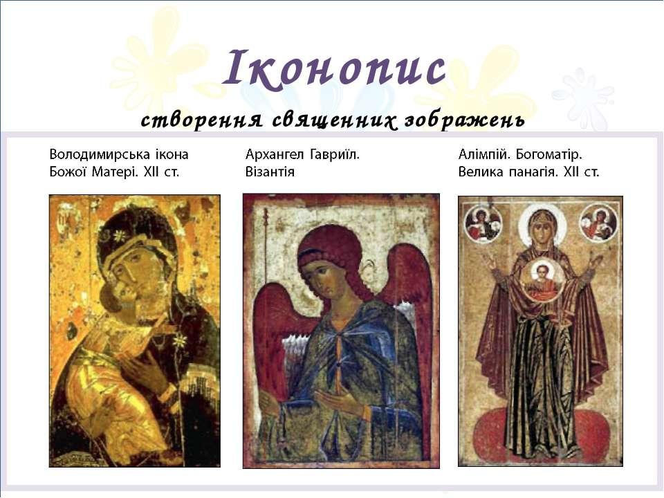 Іконопис створення священних зображень