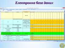 Електронна база даних