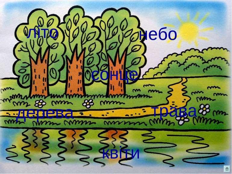 квіти дерева сонце небо трава літо