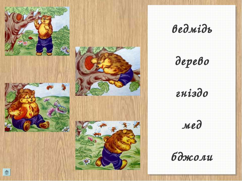 ведмідь дерево гніздо мед бджоли