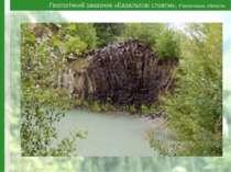 Геологічний заказник «Базальтові стовпи», Рівненська область