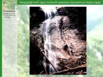 Ландшафтний гідрологічний заказник Буковинські водоспади Розтоки Розташування...