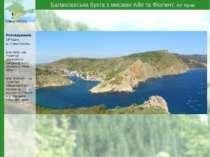 Балаклавська бухта з мисами Айя та Фіолент, АР Крим Севастополь Розташування:...