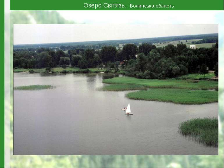 Озеро Світязь, Волинська область