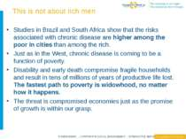This is not about rich men Studies in Brazil and South Africa show that the r...