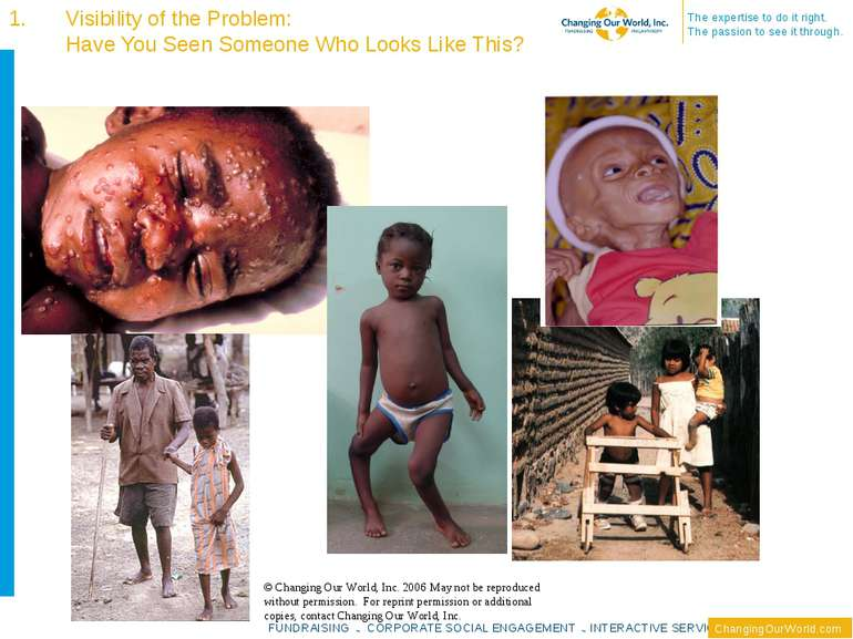 Visibility of the Problem: Have You Seen Someone Who Looks Like This? © Chang...