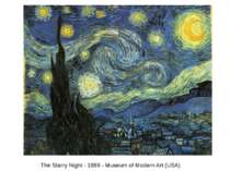 The Starry Night - 1889 - Museum of Modern Art (USA)