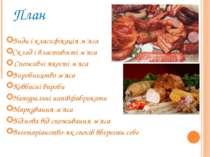План Види і класифікація м'яса Склад і властивості м'яса Споживчі якості м'я...