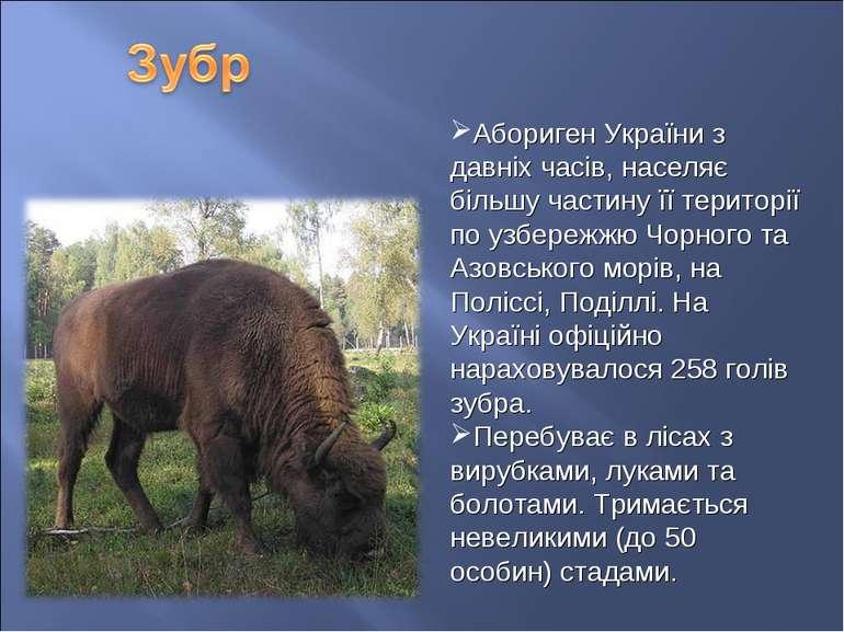 Абориген України з давніх часів, населяє більшу частину її території по узбер...