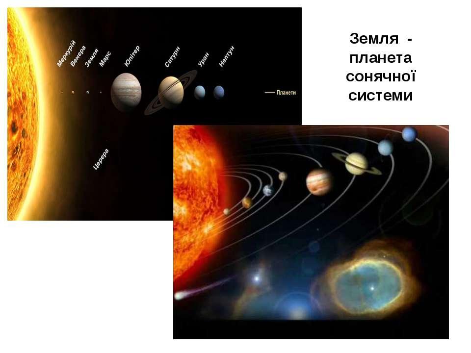 Земля - планета сонячної системи