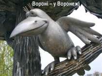 Вороні – у Воронежі