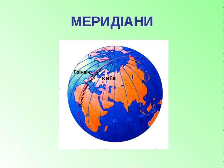 МЕРИДІАНИ