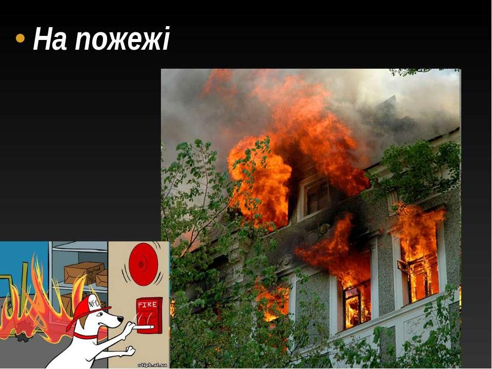 На пожежі