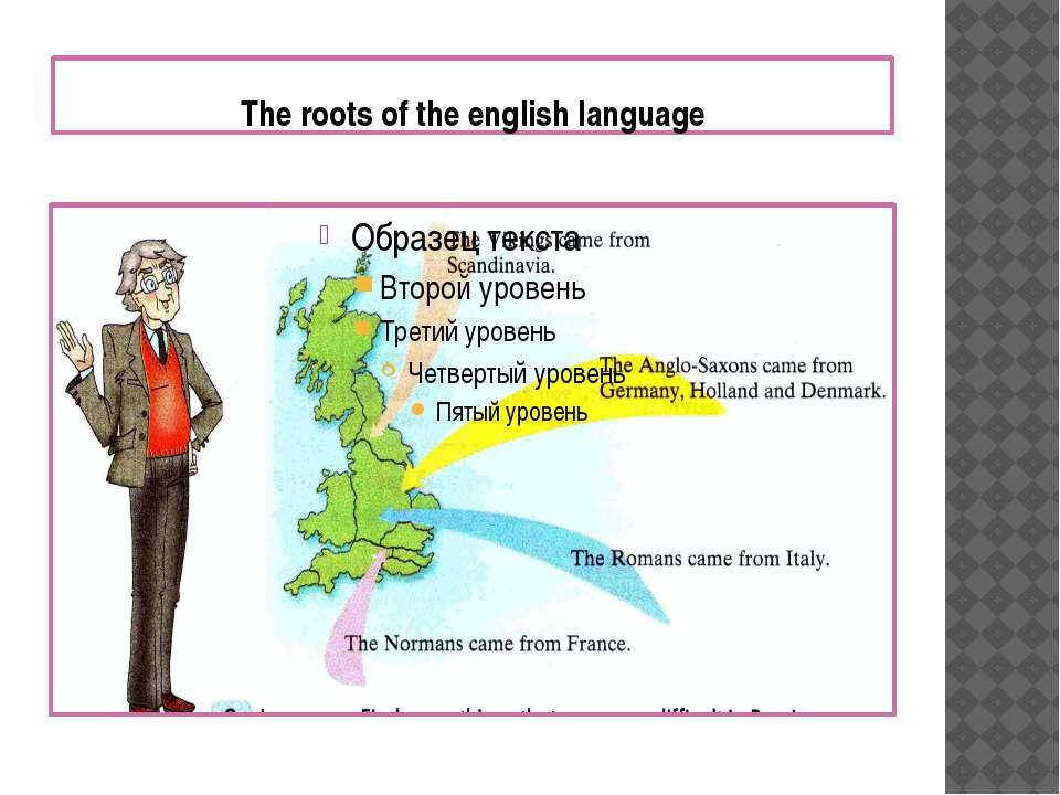 The roots of the english language