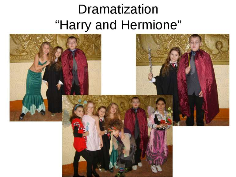 "Dramatization ""Harry and Hermione"""
