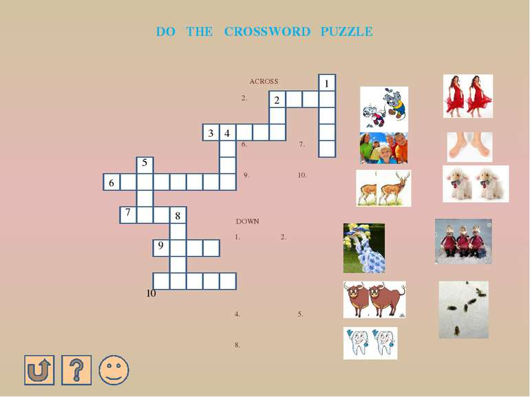 ANSWERS 1. 1. GREAT BRITAIN 2. AMERICA 3. AUSTRALIA 4. CANADA 2. B 3. C 4. D ...