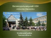 Великодальницький НВК «Школа-гімназія» Біляївський район Одеська область