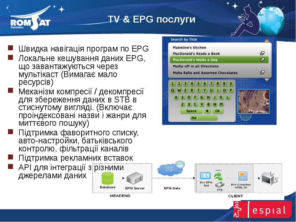 TV & EPG послуги www.romsat.ua E-mail: digital_tv@romsat.ua Тел: +380 44 4510...