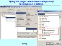 Spring IDE plugin та можливості візуалізації проектування в Eclipse Spring
