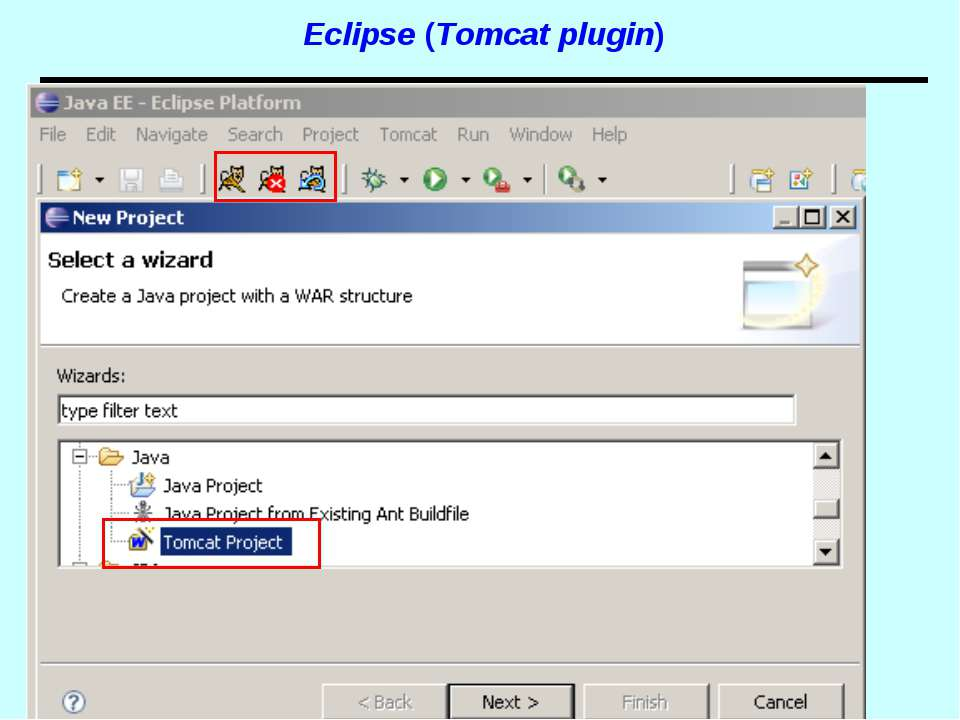 Eclipse (Tomcat plugin) Spring