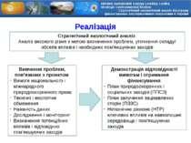 Реалізація Стратегічний екологічний аналіз Аналіз високого рівня з метою визн...