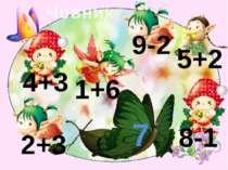 Човник 7 4+3 1+6 9-2 8-1 2+3 5+2