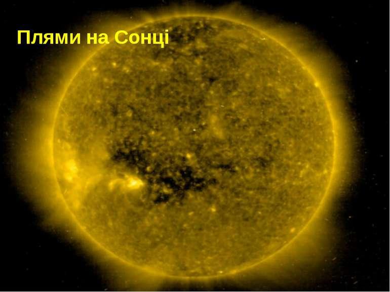 Плями на Сонці